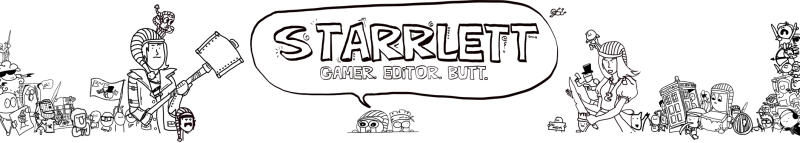 I made a Youtube banner for Starrlett, bout' time!