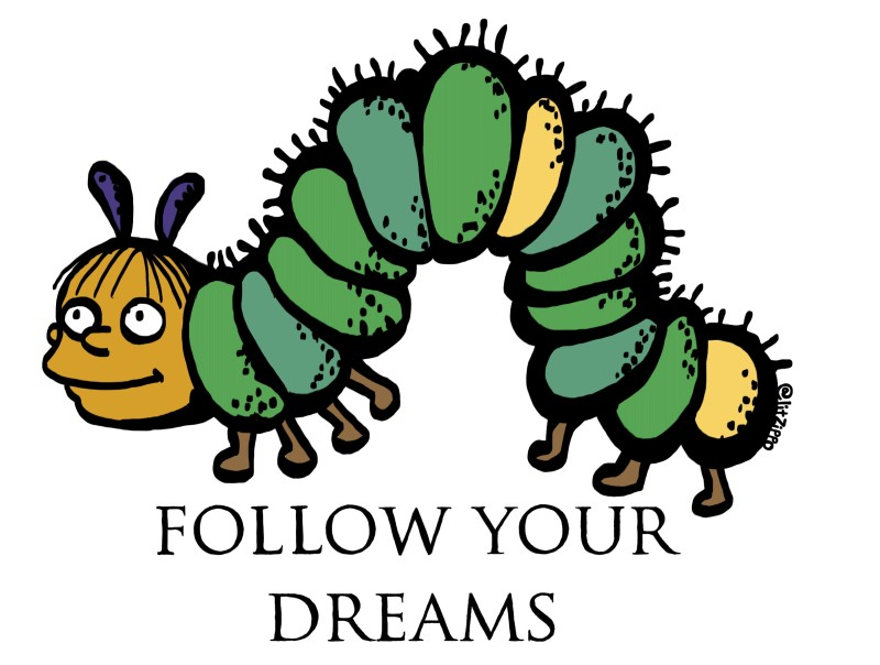 """""""When I grow up, I want to be  a superintendent or a caterpillar""""- Ralph Wiggum. You go, Ralph."""