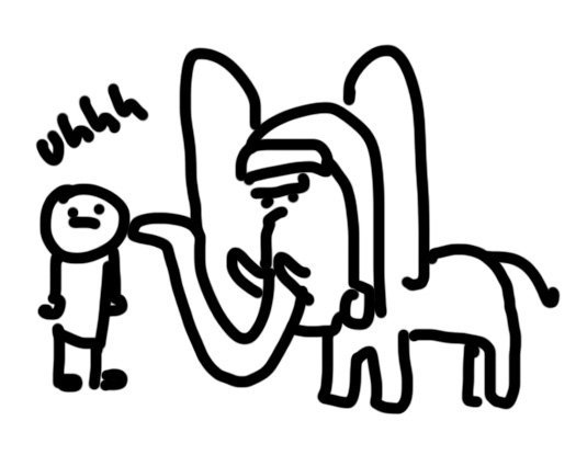Elephants never forget, and Starrlett has a trunk. Solve for X.