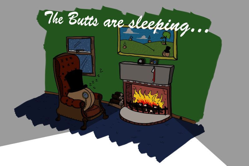 The Butts are sleeping! Brits N Butts is done for the year, but it will return! Subscribe and follow over at http://www.britsnbutts.com/