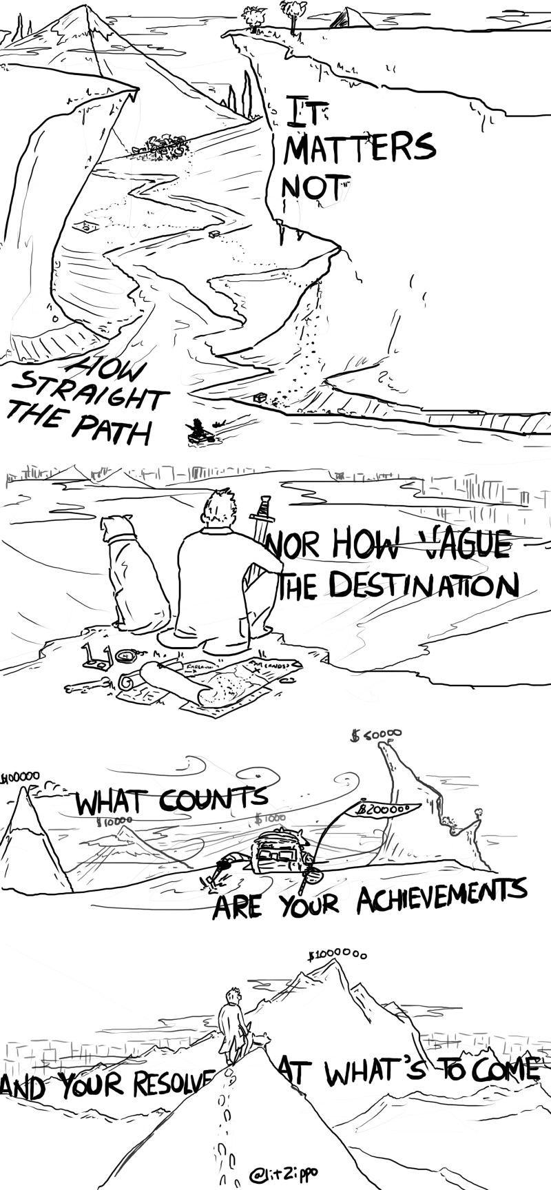 """""""Kurt's Journey, the second part of my journey series for Kurts birthday. You can buy it (and other stuff!) here"""