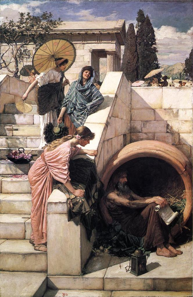 For real though Diogenes of Sinope is my hero