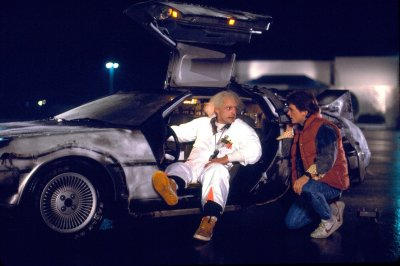 """Great Scott Marty, we can finally rewind time save a girl from being hit with a soft football!"""