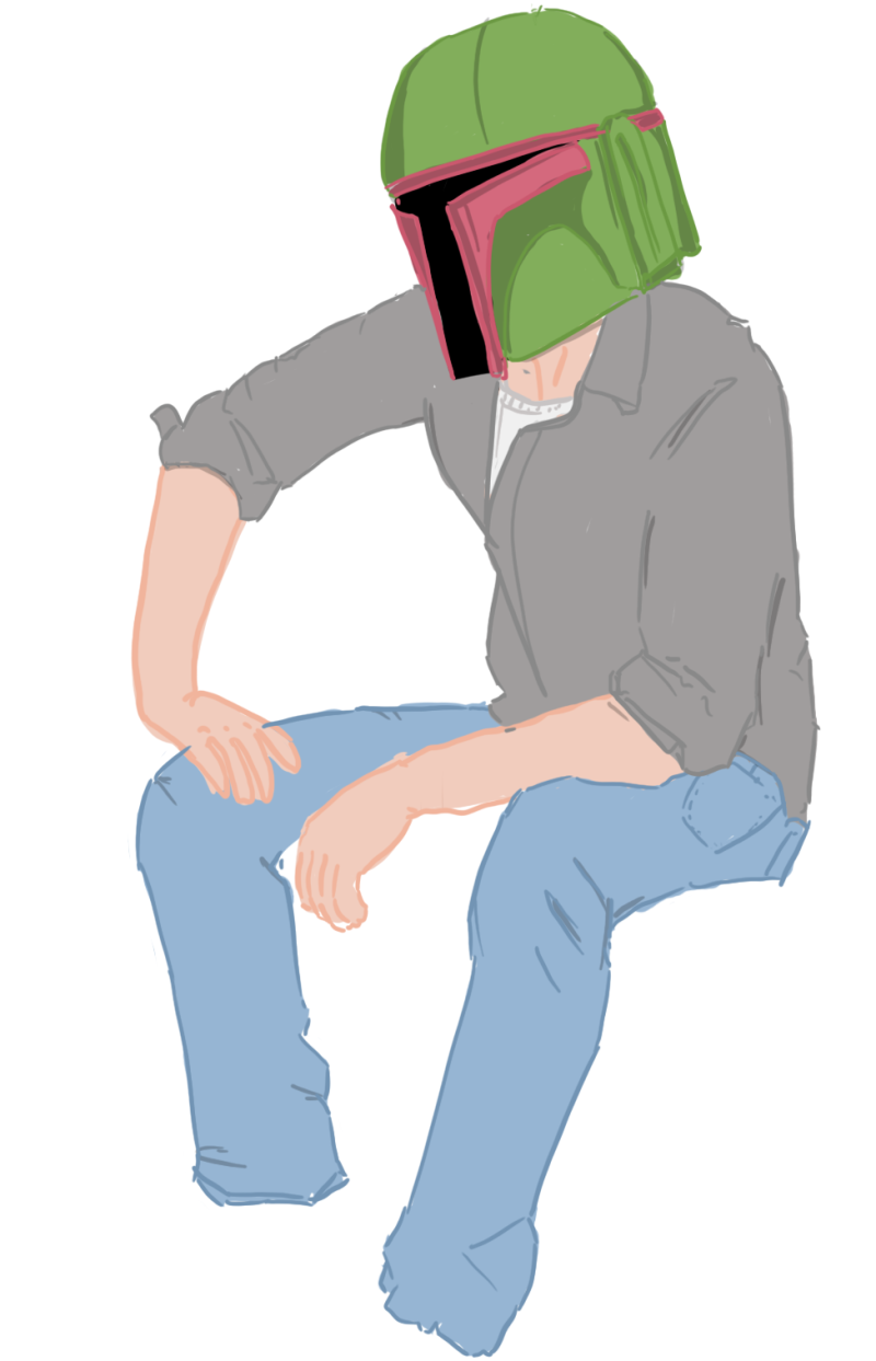 Normcore Bobba Fett just wants to chill witha  nice Paleo lunch and listen to some Mountain Goats, lay off man.